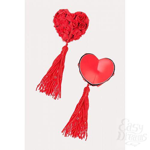 Фотография 7  Нежные пэстис в форме сердец с розами и кисточками
