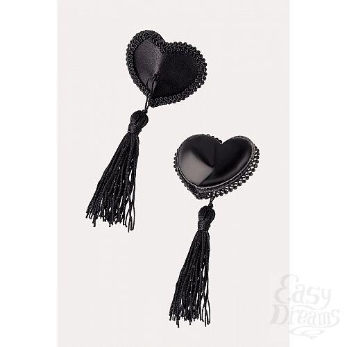 Фотография 2  Сексуальные пэстис в форме сердец с кисточками