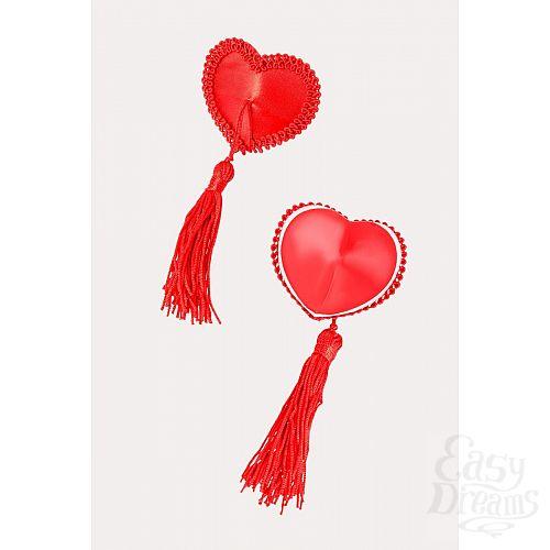 Фотография 4  Сексуальные пэстис в форме сердец с кисточками