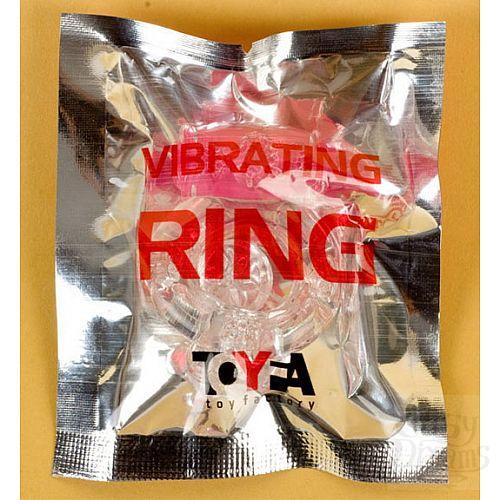 Фотография 2  Прозрачное эрекционное кольцо с вибратором (ToyFa 818034-1)