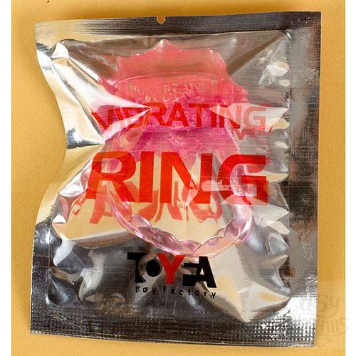 Фотография 2  Розовое эрекционное кольцо с вибратором (ToyFa 818035-3)