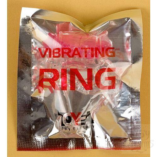 Фотография 2  Фиолетовое эрекционное кольцо с вибратором (ToyFa 818039-4)