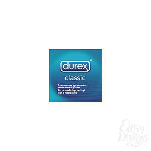 Фотография 1:  Презервативы классические DUREX CLASSIC, 12 шт.