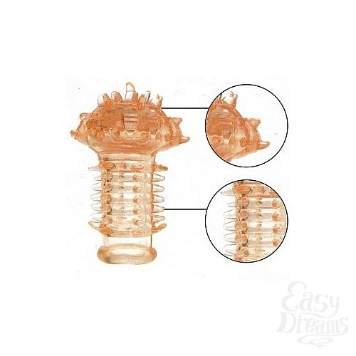 Фотография 1:  Насадка на палец для стимуляции клитора