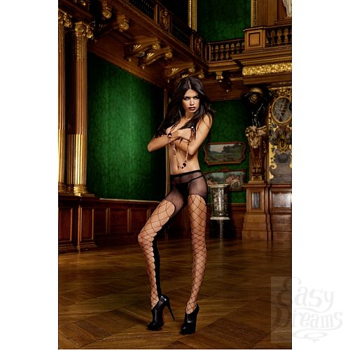 Фотография 1: Baci Lingerie White Collection Devil Колготки OS (42-46), черный