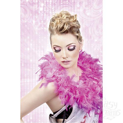 Фотография 2 Baci Lingerie Ресницы чёрные с розовыми  стразами