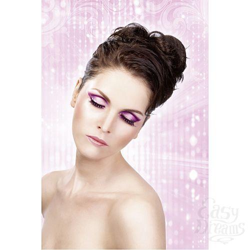Фотография 2 Baci Lingerie Ресницы чёрно-фиолетовые со стразами
