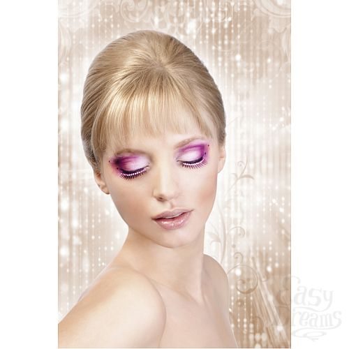 Фотография 2 Baci Lingerie Ресницы чёрные Glitter