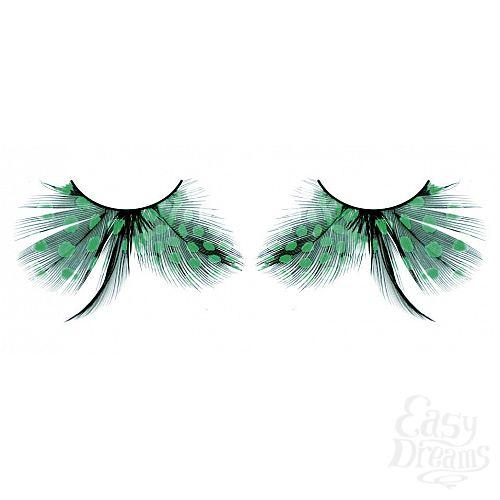 Фотография 1: Baci Lingerie Ресницы бирюзовые  перья