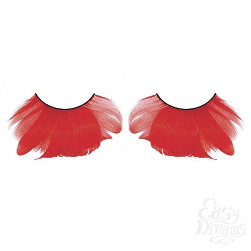 Фотография 1: Baci Lingerie Ресницы красные  перья