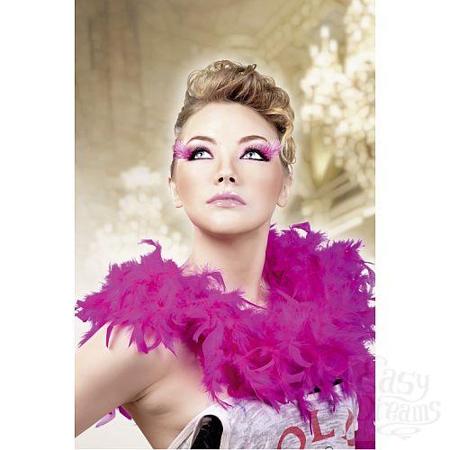 Фотография 2 Baci Lingerie Ресницы чёрные-фиолетовые  перья