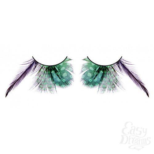 Фотография 1: Baci Lingerie Ресницы зелёные  перья