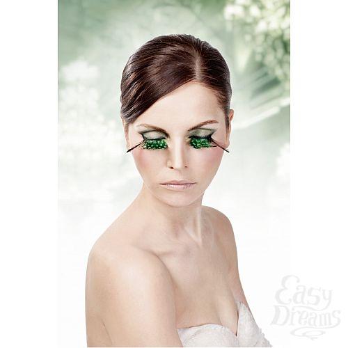 Фотография 2 Baci Lingerie Ресницы зелёные  перья