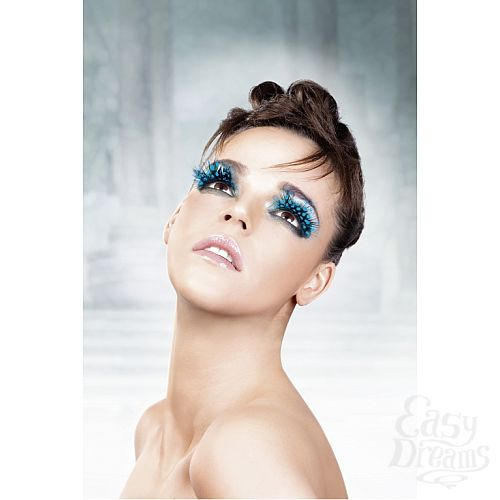 Фотография 2 Baci Lingerie Ресницы голубые  перья