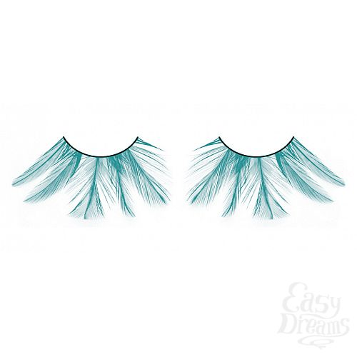 Фотография 1: Baci Lingerie Ресницы голубые  перья