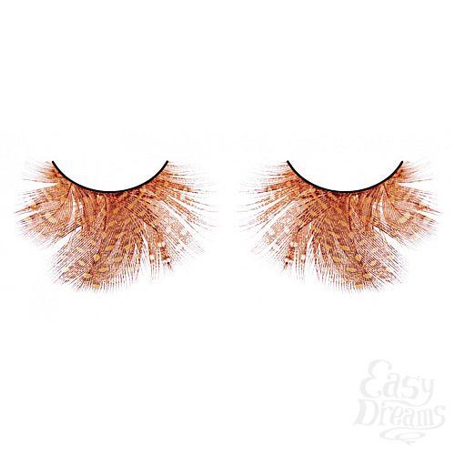 Фотография 1: Baci Lingerie Ресницы оранжево-красные  перья