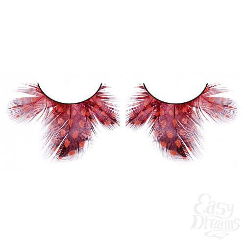 Фотография 1: Baci Lingerie Ресницы тёмно-красные  перья