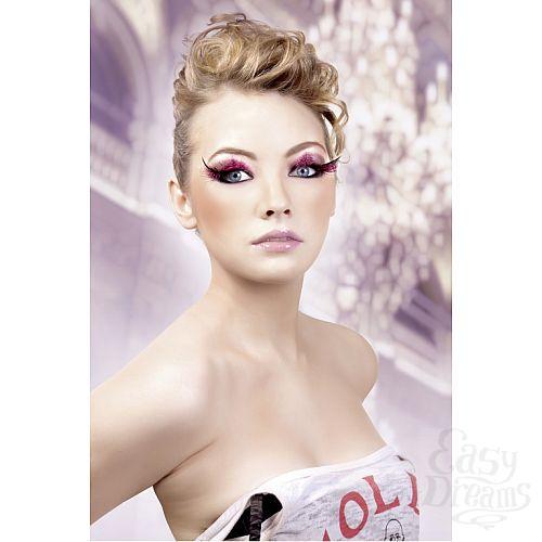 Фотография 2 Baci Lingerie Ресницы розовые  перья