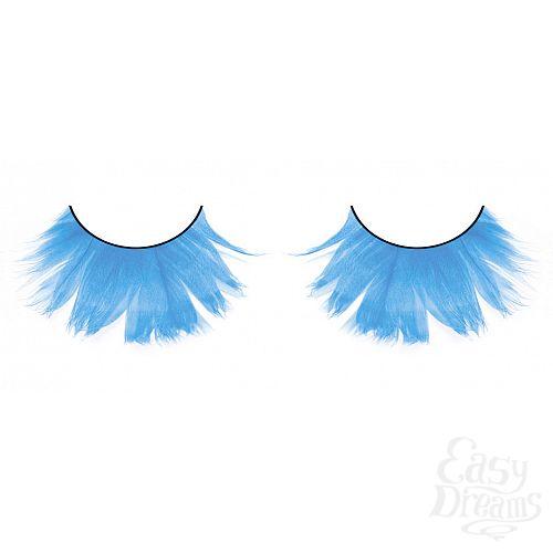 Фотография 1: Baci Lingerie Ресницы светло-голубые  перья