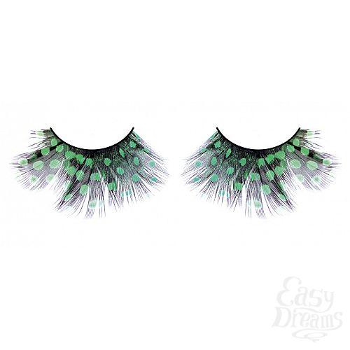 Фотография 1: Baci Lingerie Ресницы тёмно-зеленые  перья