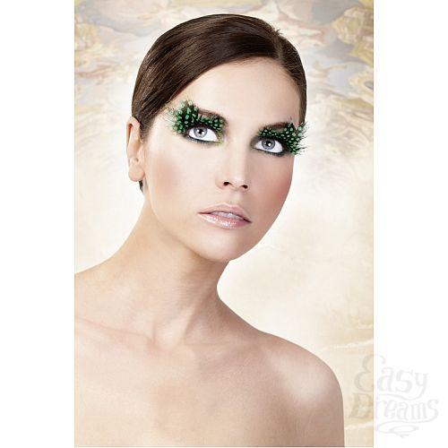 Фотография 2 Baci Lingerie Ресницы тёмно-зеленые  перья