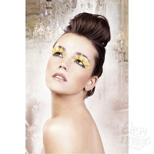 Фотография 2 Baci Lingerie Ресницы жёлтые  перья