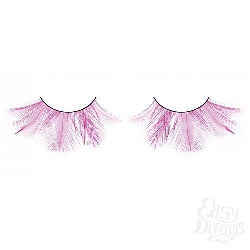 Фотография 1: Baci Lingerie Ресницы розовые  перья