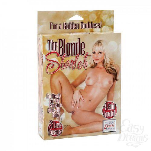 Фотография 1: California Exotic Novelties, Америка  Блондинка с розовыми губками UKRN 1929-10 BX SE