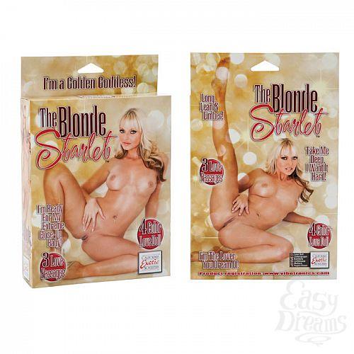 Фотография 2 California Exotic Novelties, Америка  Блондинка с розовыми губками UKRN 1929-10 BX SE