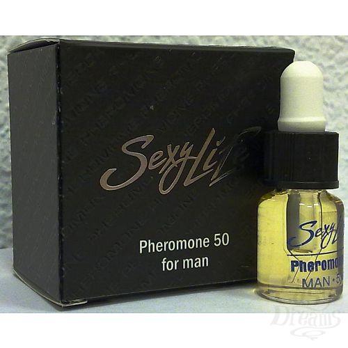 Фотография 1: Парфюм Престиж Духи концентрированные Sexy Life с феромонами мужские Pheromone 50% koncm50-sl
