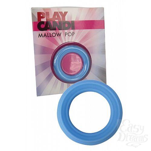 Фотография 1:  Гладкое эрекционное кольцо (Dream toys 50795)