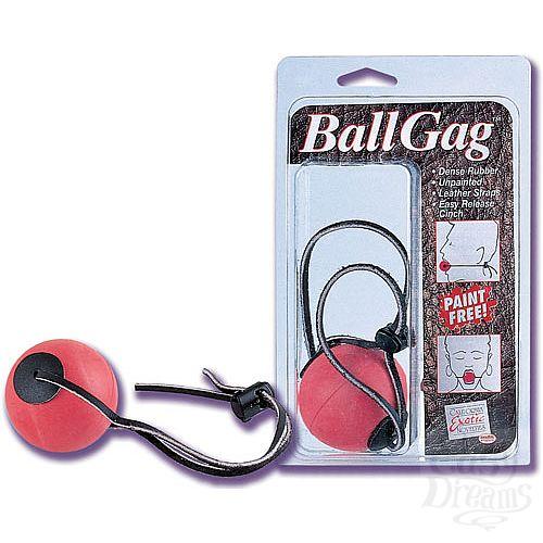 Фотография 1:  Кляп с резиновым шаром BALL GAG