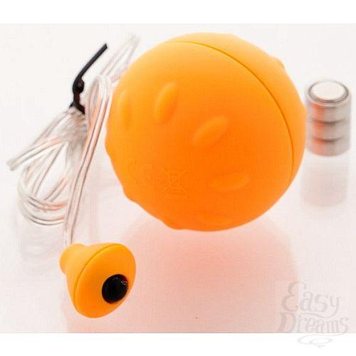 Фотография 1:  Оранжевое виброяйцо 4,5 см.