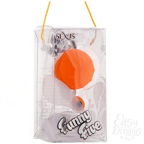 Фотография 2  Оранжевое виброяйцо 4,5 см.