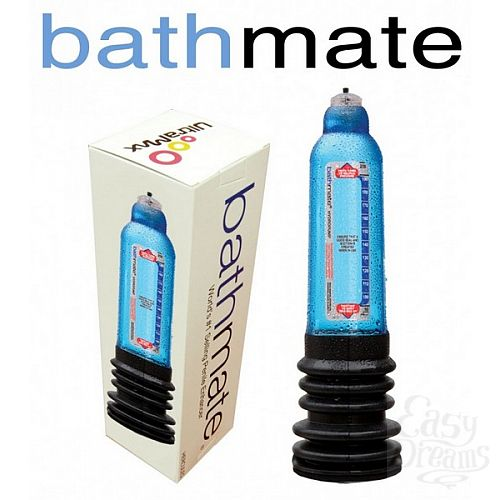 Фотография 2  Гидронасос для увеличения члена Bathmate Hercules, Красный