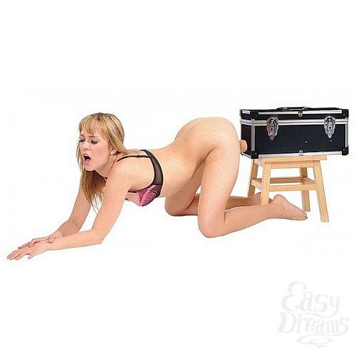 Фотография 3  Секс-машина с 2 сменными насадками и вибратором
