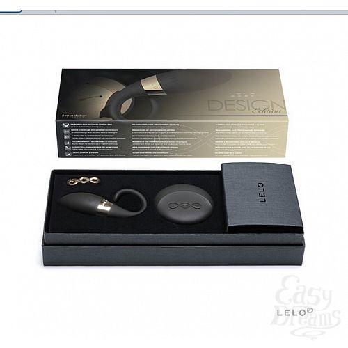 Фотография 4  NEW! Эрекционное виброкольцо + стимулятор клитора Oden 2 Design Edition (LELO)