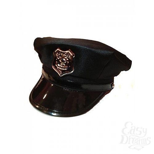 Фотография 1: Le Frivole Costumes Фуражка полицейского черная 02502OS