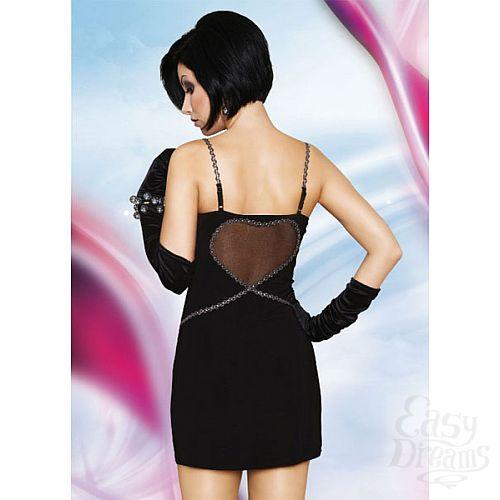 Фотография 2  Черное эротичное платье