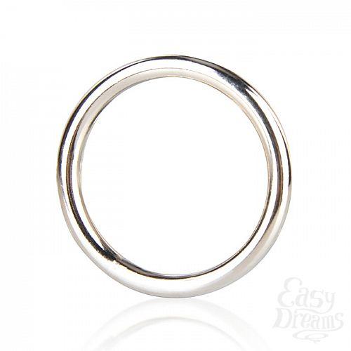 Фотография 2 Blueline, США  Стальное эрекционное кольцо 4,5 см STEEL COCK RING BLM4002