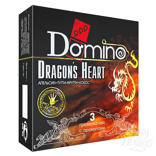 Фотография 1: Классика Групп Презервативы Domino Dragon s Heart №3