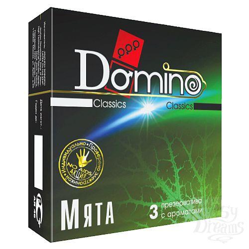 Фотография 1: Классика Групп Презервативы Domino Мята №3