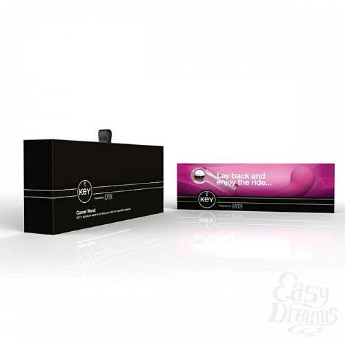 Фотография 5  Оригинальный розовый массажер точки G Comet G-Sport серии Key