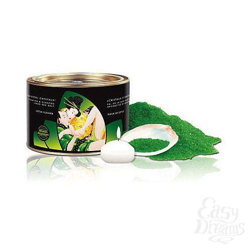 Фотография 1:  Соль для ванной *Цветок лотоса*