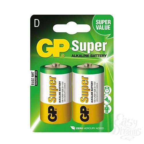 Фотография 1:  Батарейка Super LR20 (алкалин) в блистере по 2 шт.