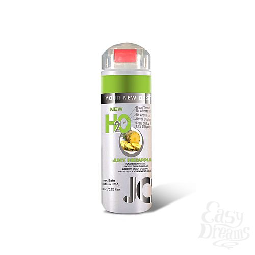Фотография 1: SYSTEM JO, США Ароматизированный лубрикант на водной основе JO Flavored Juicy Pineapple , 5.25 oz (160 мл)