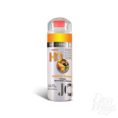 Фотография 1: SYSTEM JO, США Ароматизированный лубрикант на водной основе JO Flavored Tropical Passion , 5.25 oz (160 мл)