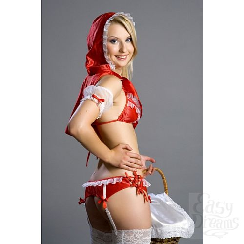 Фотография 2 FlirtON Комплект аксессуаров Красная Шапочка Размер 42-44 2584-42-44