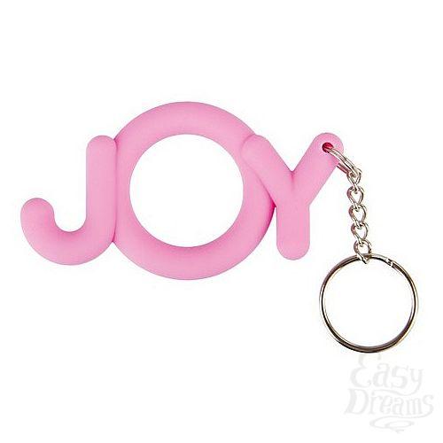 Фотография 1:  Эрекционное кольцо Joy Cocking розовое