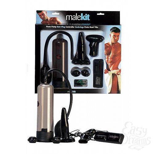 Фотография 1:  Эротический набор для мужчин Malekit